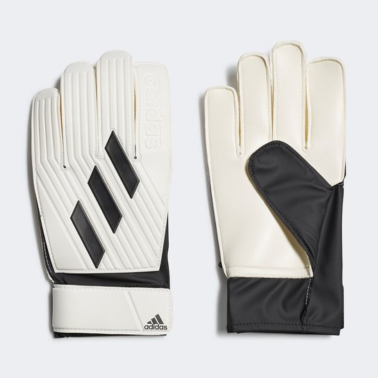 Luvas de Goleiro Adidas Tiro Club - Branco+Preto