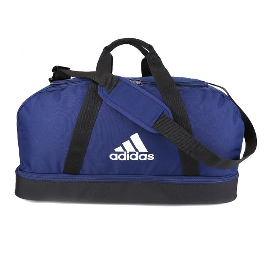 Mala Adidas Tiro Duffel Compartimento Médio - Marinho+Preto