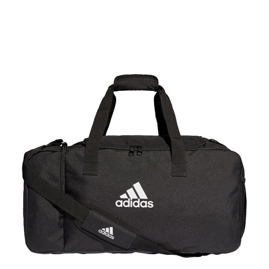 Mala Adidas Tiro Duffel Média - Preto+Branco