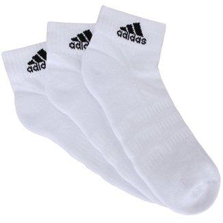 Meia Adidas Cush Ank 3 Pares