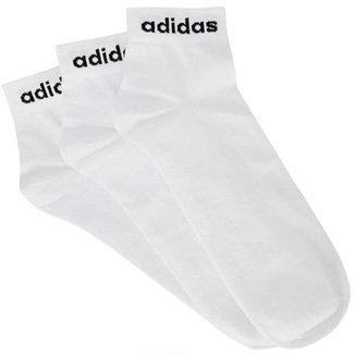 Meia Adidas Low Cut 3 Pares