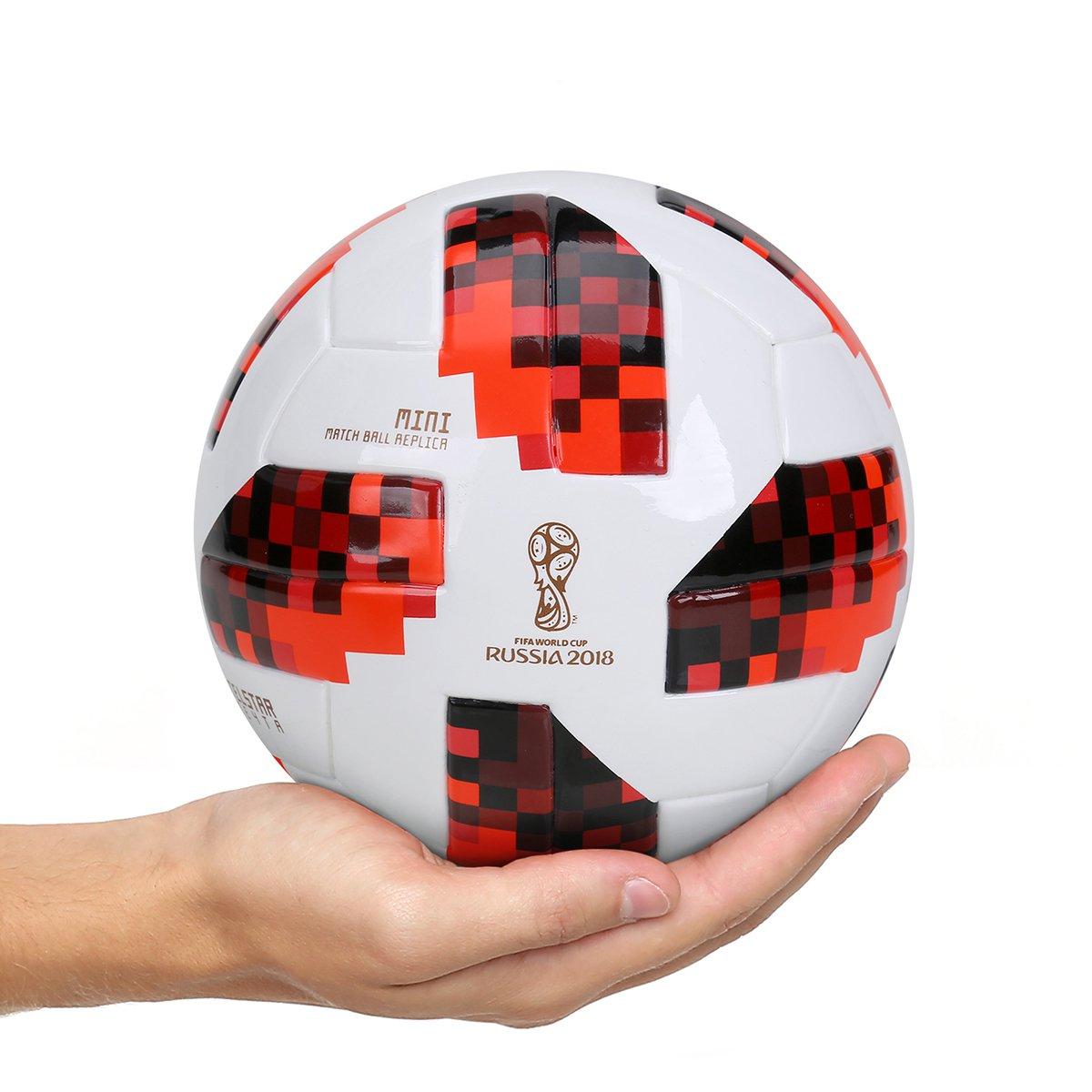 Mini Bola Adidas Telstar 18 Réplica Mata-Mata Copa do Mundo FIFA ... 98e1ac21b5f47