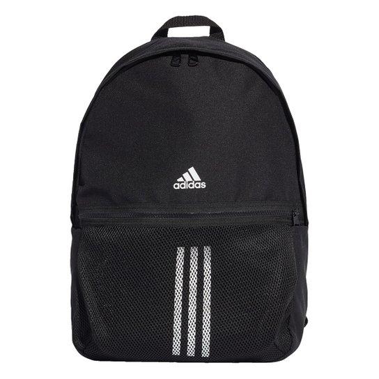 Mochila Adidas Classic Bp 3S - Preto+Branco
