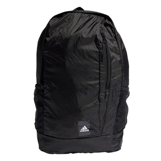 Mochila Adidas Essentials Logo - Preto+Branco