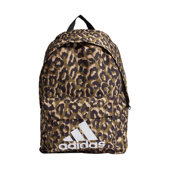 Mochila Adidas Leopard Logo - Cinza+Azul