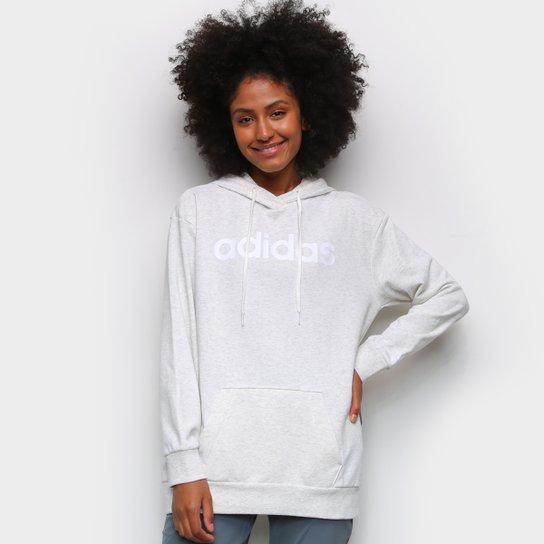 Moletom Adidas Essentials Linear Feminino - Branco