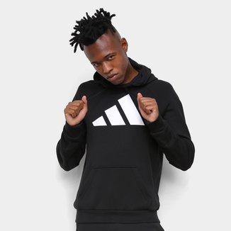 Moletom Adidas Logo Capuz Masculino