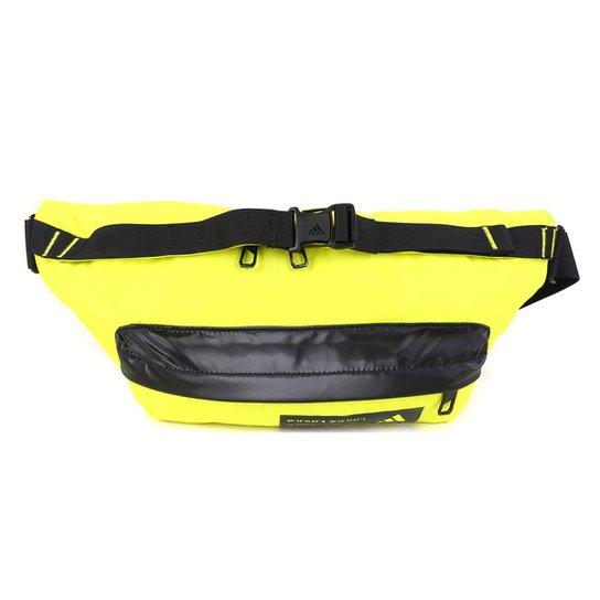 Pochete Adidas Sport Waist Neon - Amarelo+Preto