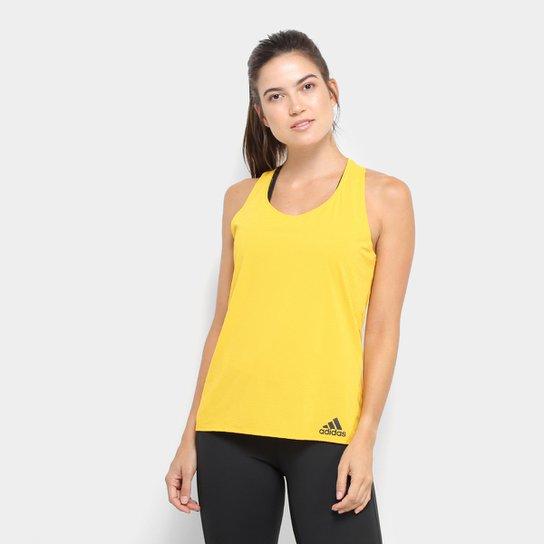 Regata Adidas Cap Chill Tan1 Feminina - Amarelo