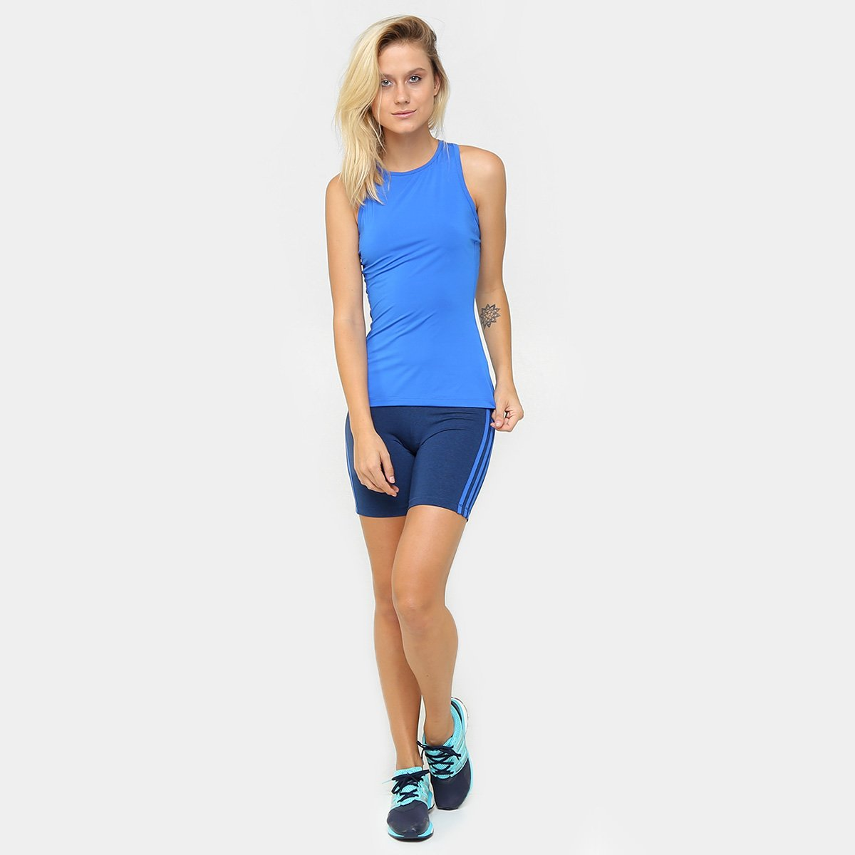 a5715c0842 Regata Adidas Speed Fitted Feminina - Azul - Compre Agora