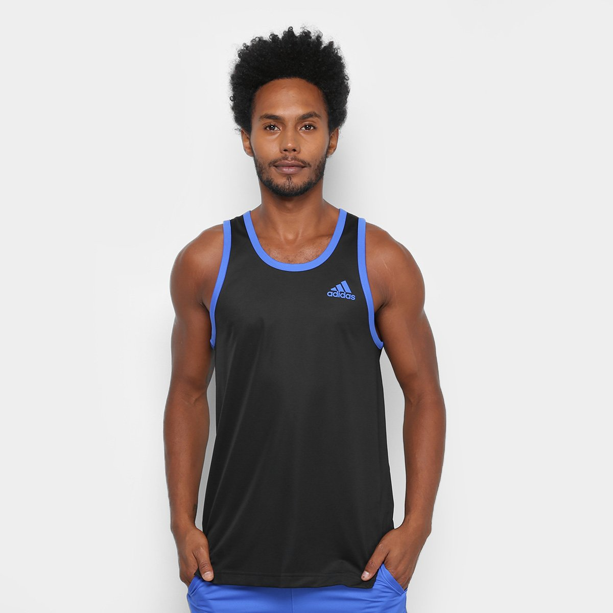 Regata Adidas Sport Masculina - Compre Agora  91ae757708c