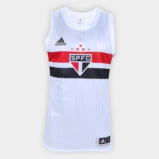 Regata NBB São Paulo Home Adidas Masculina