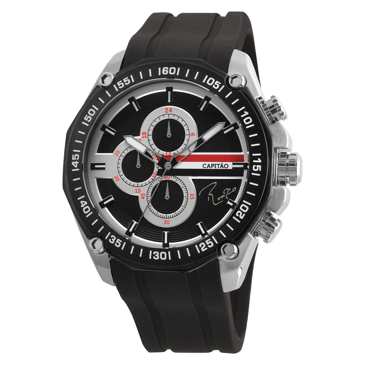 0d50b257a90 Relógio São Paulo Technos Rogério Ceni Capitão Analógico Cronógrafo I -  Compre Agora