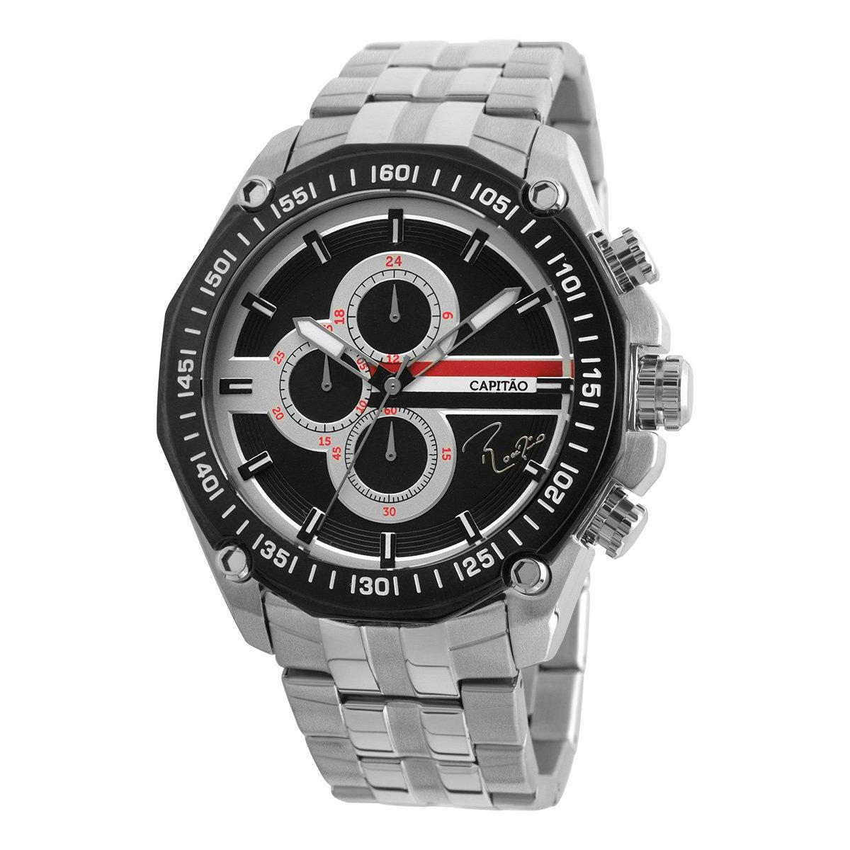 b69fb839bf8 Relógio Technos São Paulo Rogério Ceni Capitão Analógico Cronógrafo II - Compre  Agora