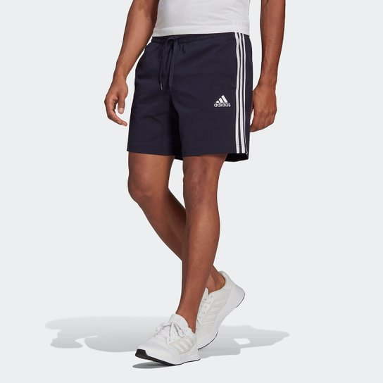 Short Adidas Adidas Essentials Masculino - Marinho+Branco