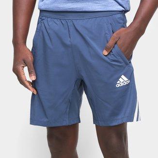 Short Adidas Aeroready 3 Listras Masculino