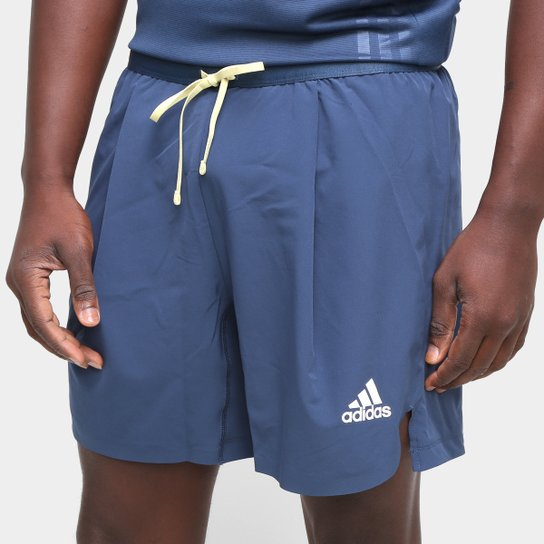 Short Adidas Aeroready Flow Motion Masculino - Azul