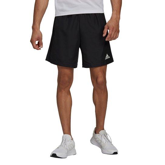 Short Adidas D2M RipsTop Masculino - Preto