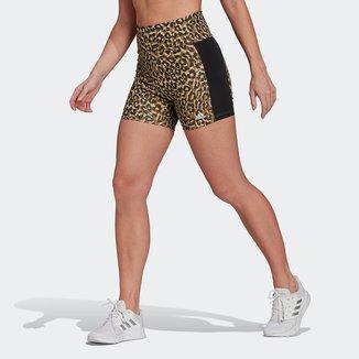 Short Adidas Leopard Feminino