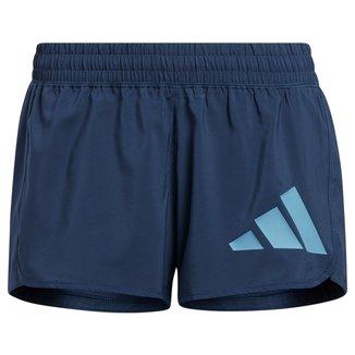 Short Adidas Pacer 3 Listras Knit Feminino