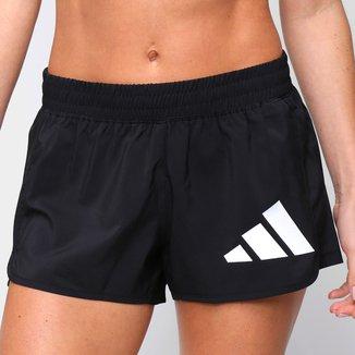 Short Adidas Pacer Logo Feminino