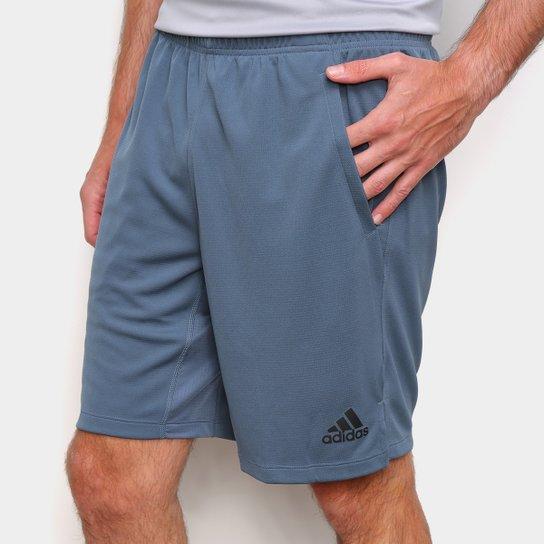 Short Adidas Training 9-Inch Masculino - Azul