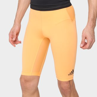Short Biker Adidas Techfit Heat Ready Masculino