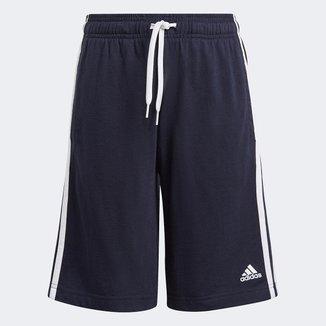 Short Infantil Adidas Essentials 3 Stripes Masculino