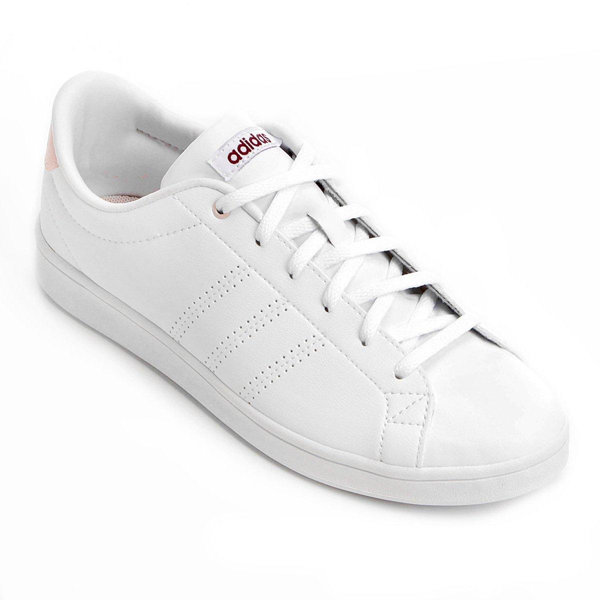 2727ae750c1 Tênis Adidas Advantage Clean Qt Feminino - Branco - Compre Agora ...