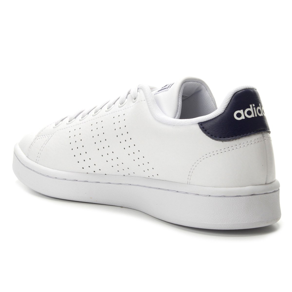Tênis Adidas Advantage Masculino Branco e Azul