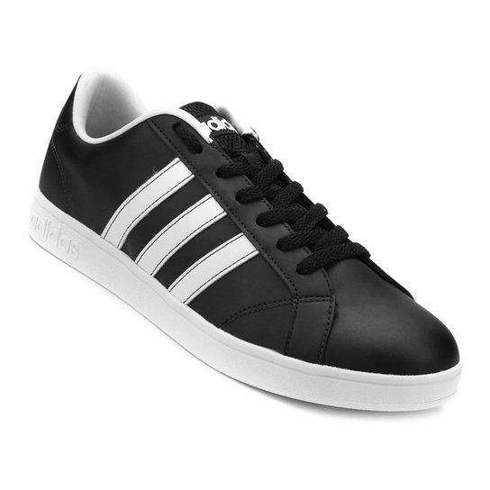 Tênis Adidas Advantage Vs - Preto+Branco