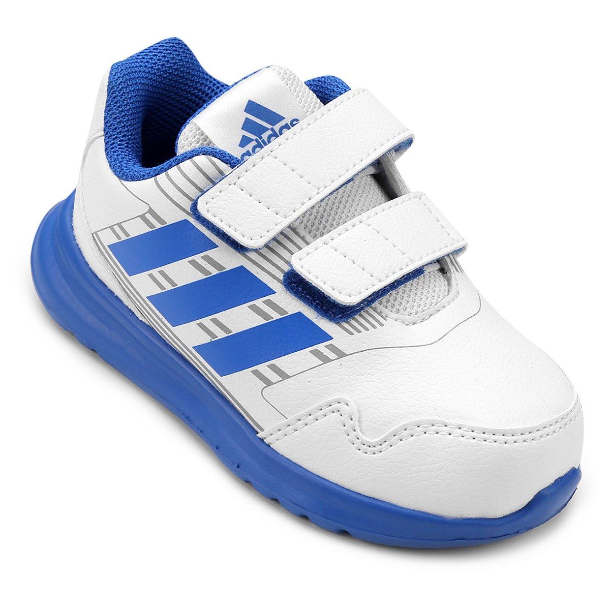 86a22654d0e Tênis Adidas Altarun Cf Infantil - Branco e Azul - Compre Agora ...