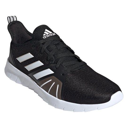 Tênis Adidas Asweerun 2.0 Masculino - Preto+Branco