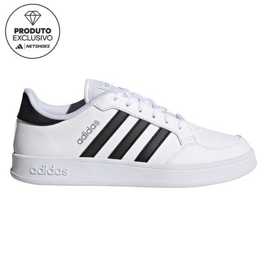 Tênis Adidas Breaknet Feminino - Branco+Preto