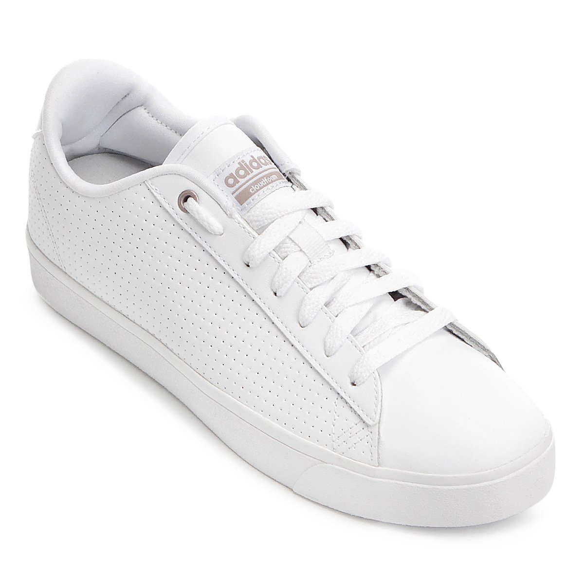 Tênis Adidas Cf Daily Qt Clean W Feminino - Compre Agora  c36c6eeb72ecc