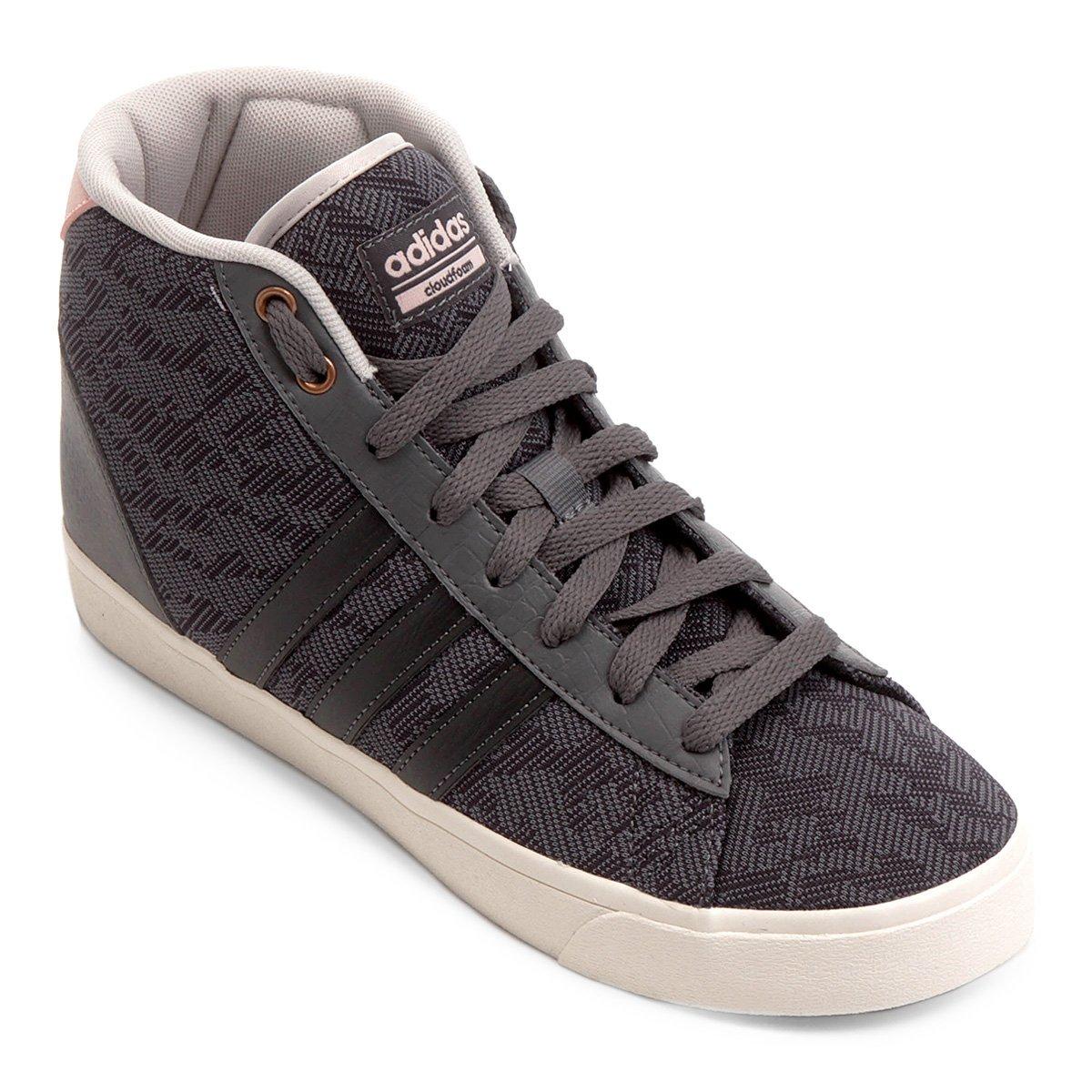 6405e33fdd2 Tênis Adidas Cf Daily Qt Mid Feminino - Compre Agora