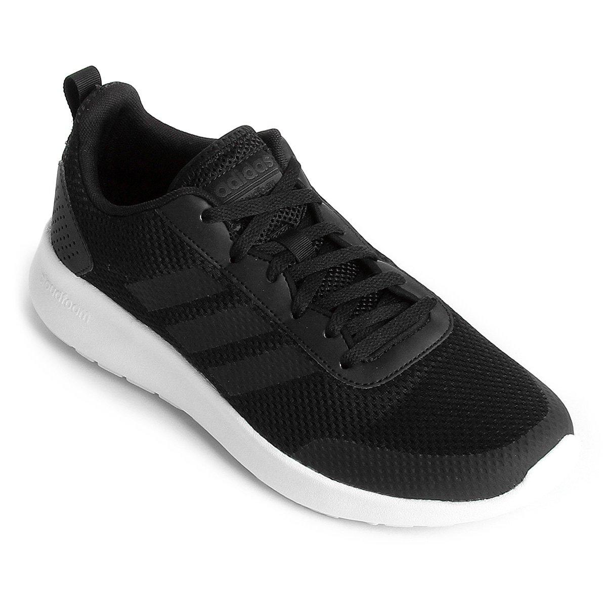 1395cb1adf Tênis Adidas CF Element Race Masculino - Preto e Branco - Compre ...