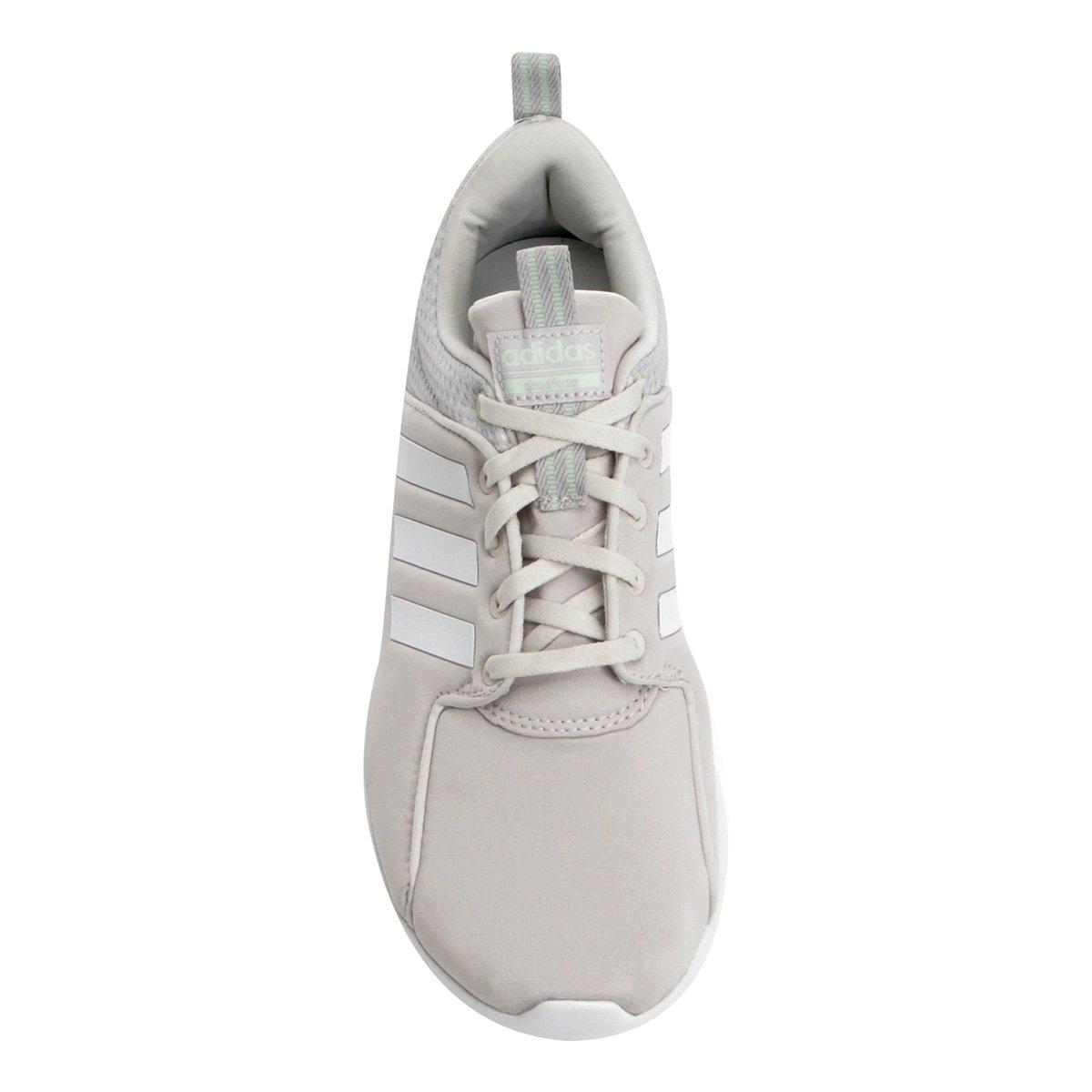 1466483050 Tênis Adidas Cf Lite Racer W Feminino - Off White - Compre Agora ...