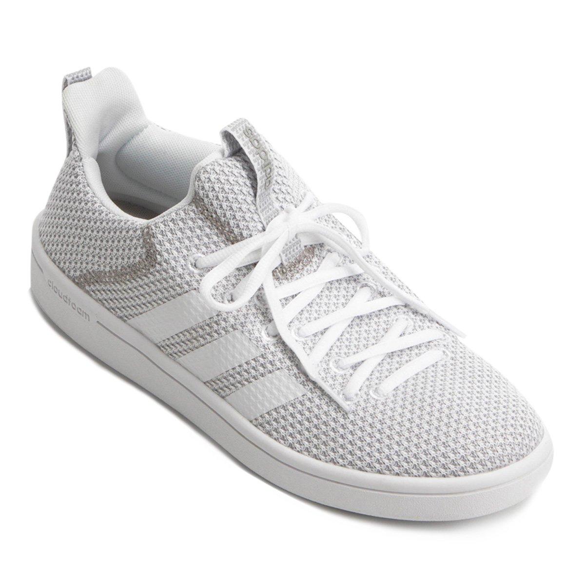 613f5468a96 Tênis Adidas Cloudfoam Advantage Adapt Masculino - Branco e Cinza - Compre  Agora