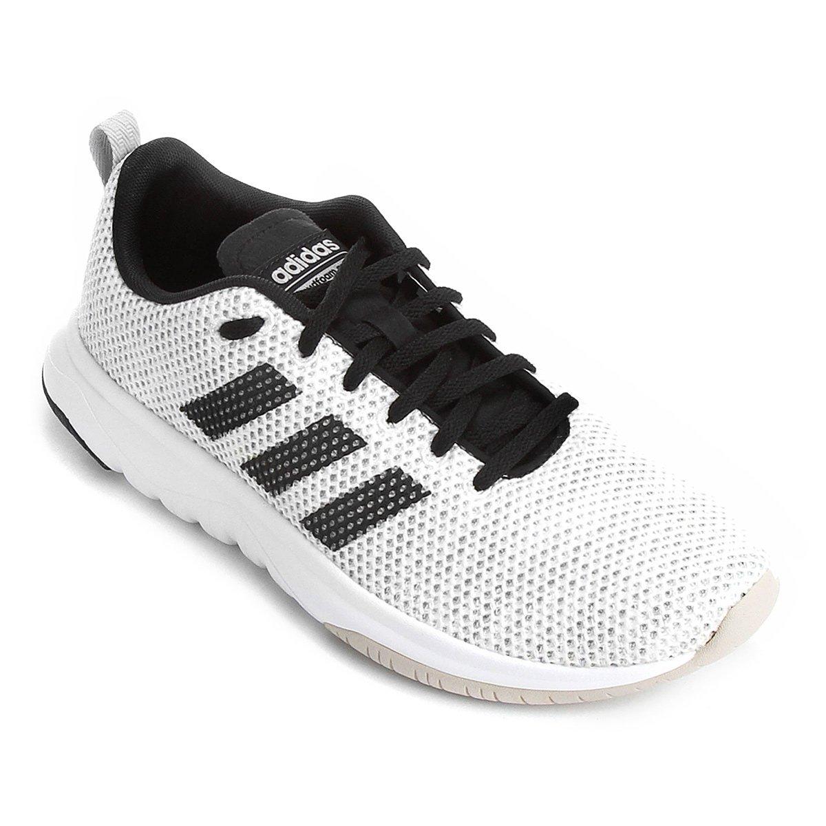 Tênis Adidas Cloudfoam Superflex Masculino - Branco e Preto - Compre ... 97056f7f6ab98