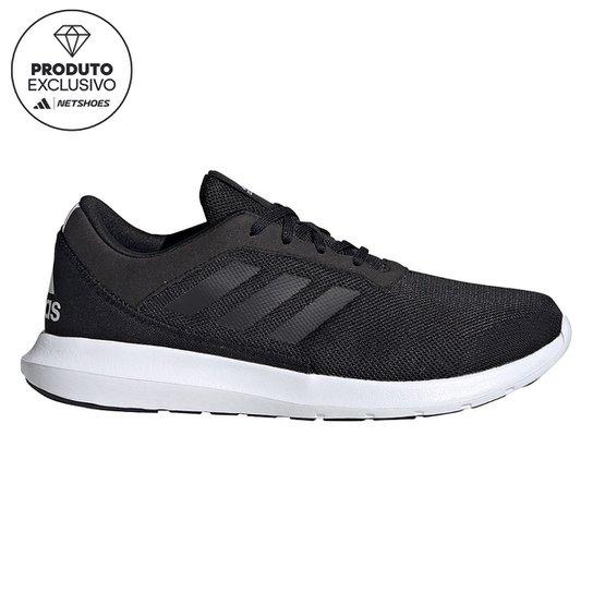 Tênis Adidas Coreracer Feminino - Preto+Chumbo