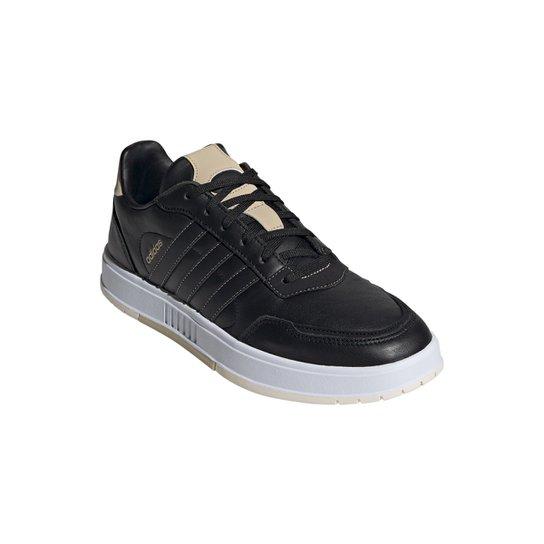 Tênis Adidas Courtmaster Masculino - Preto+Branco