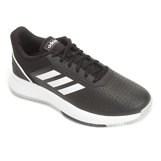 Tênis Adidas Courtsmash Masculino - Preto+Cinza