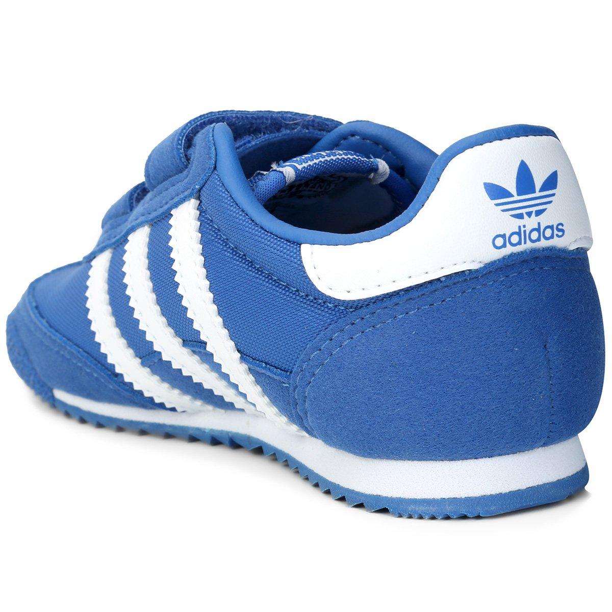 fe0736a4e3 Tênis Adidas Dragon Og Cf Infantil - Azul - Compre Agora