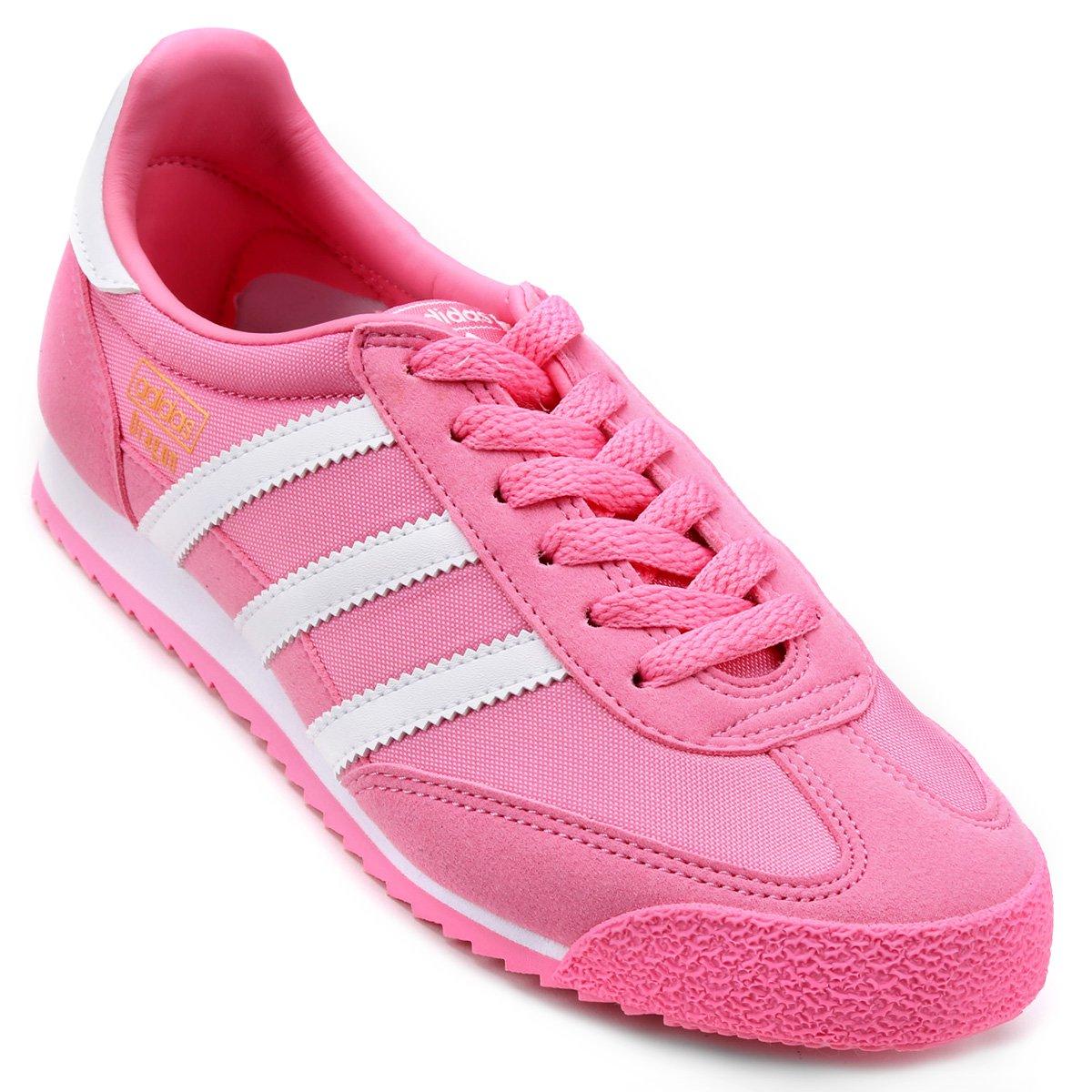 b51cf622d14 Tênis Adidas Dragon Og J Infantil - Rosa - Compre Agora