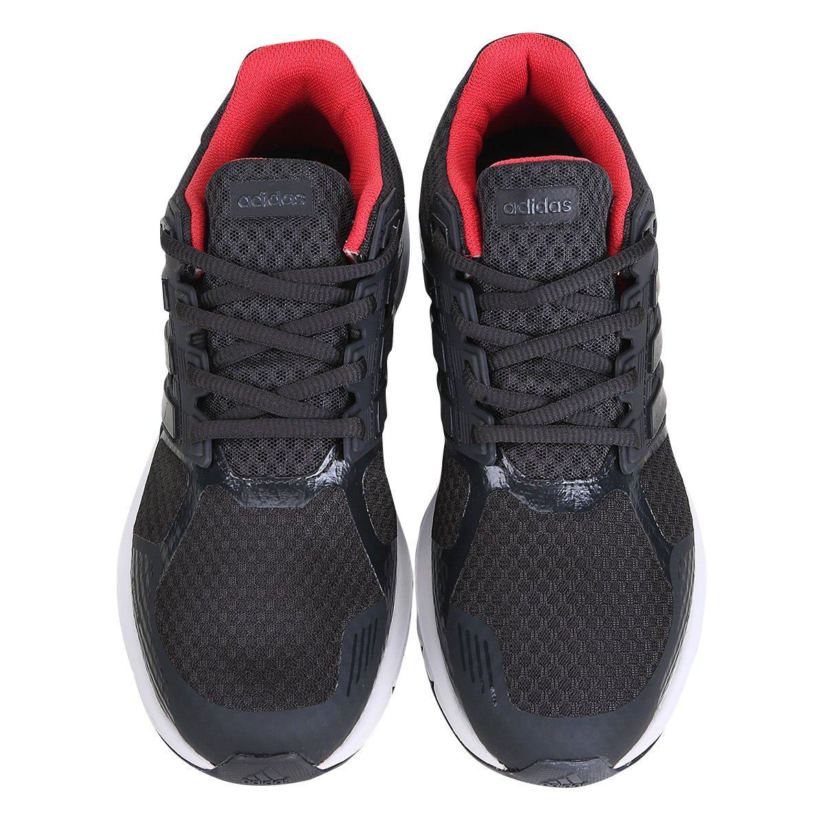 Tênis Adidas Duramo 8 Feminino - Preto e Vermelho - Compre Agora ... 88c026c675c30