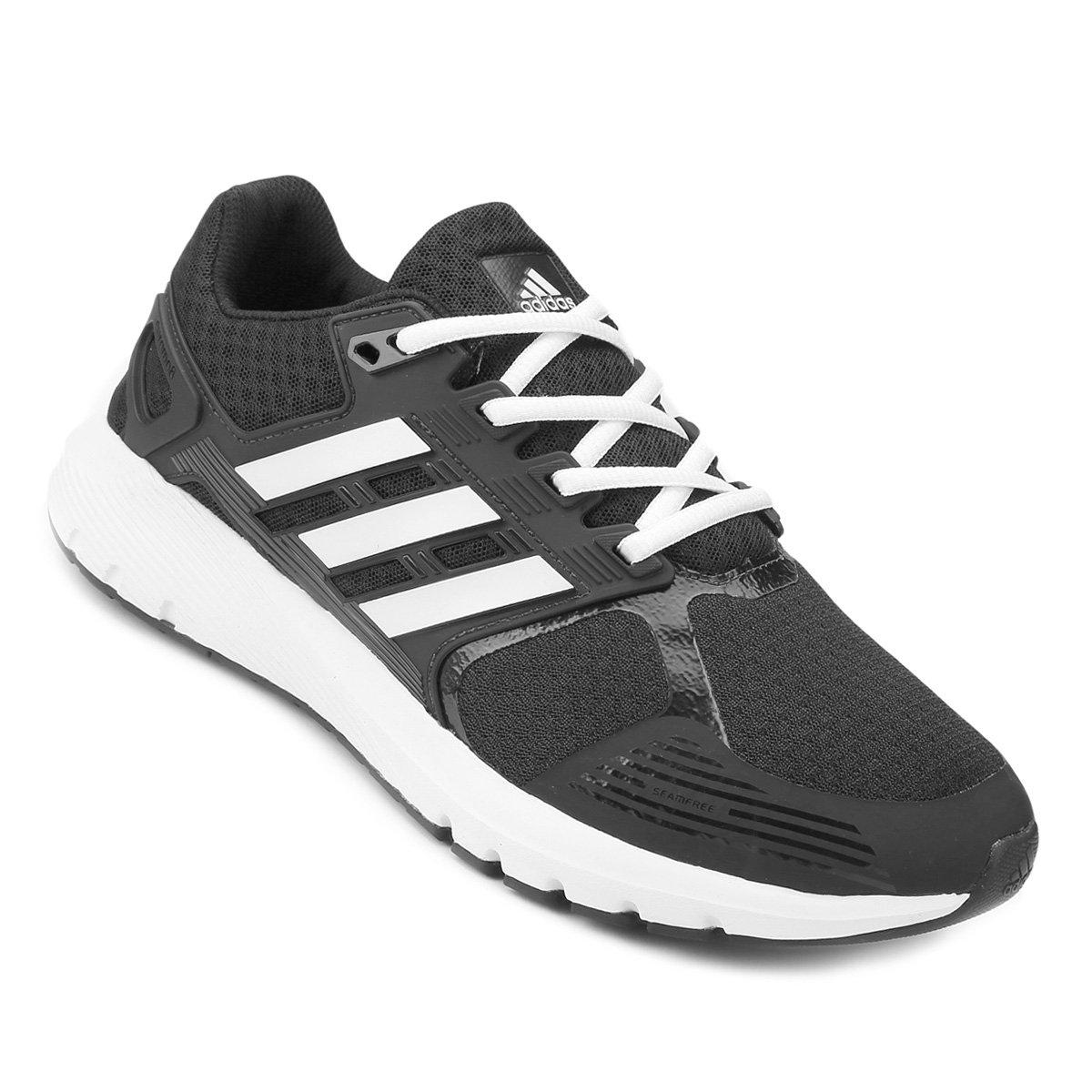 c1601523f60 Tênis Adidas Duramo 8 Masculino - Preto e Chumbo - Compre Agora ...