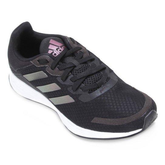 Tênis Adidas Duramo SL Feminino - Chumbo+Branco