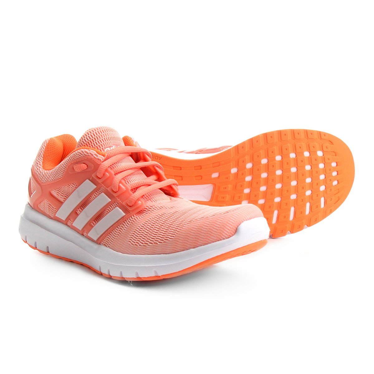 96023b8f02 Tênis Adidas Energy Cloud V Feminino - Coral - Compre Agora