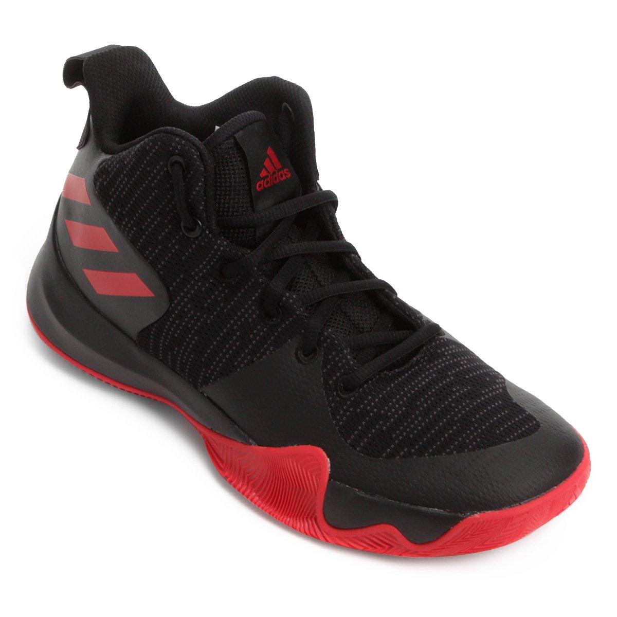 Tênis Adidas Explosive Flash Masculino - Preto e Vermelho - Compre ... c6968d624bc29